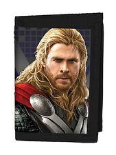 """Genuine Marvel Los Vengadores Edad de Ultron """"Thor"""" Lenticular 3D Tri-Fold Wallet Regalo"""