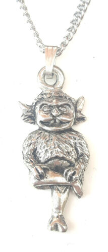 Free GiftBox PN67 Lincoln Imp Pendant Handcrafted in Solid Pewter In The UK
