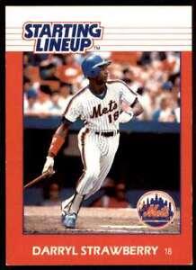 1988 Starting Lineup Darryl Strawberry New York Mets