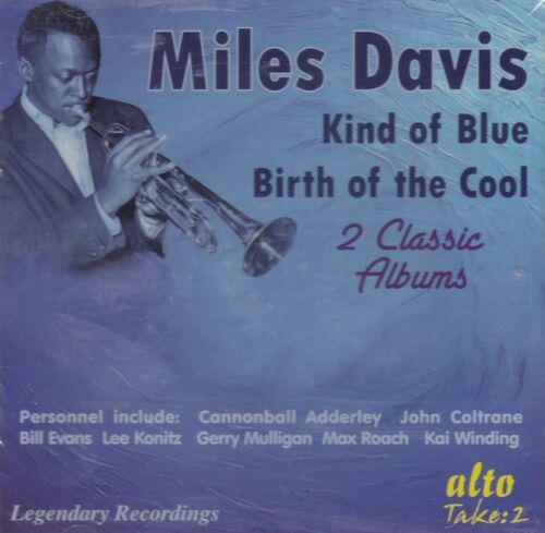 1 of 1 - [NEW] CD: MILES DAVIS: KIND OF BLUE / BIRTH OF THE COOL
