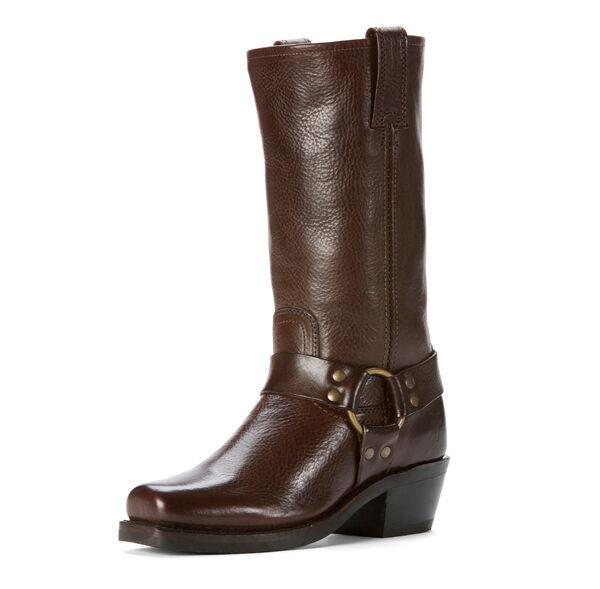 negozio online donna Frye stivali 77308 DBN Harness Harness Harness 12R Dark Marrone  100% autentico