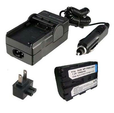 Cargador De Batería Para Sony Handycam Dcr-trv260 Dcr-trv280 Dcr-trv460 Dcr-trv480 nos