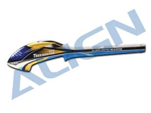 Aligner le fuselage T-rex 500e Speed - Bleu & Blanc - S / secondes 4713413985807