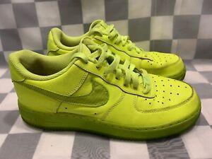 NIKE AIR FORCE 1 Jeunesse Taille de Chaussure 7Y Volt 596728 701
