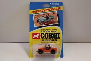 Corgi Junior No: 5    - Orange (non ouvert / original de 1970)  willys Jeep