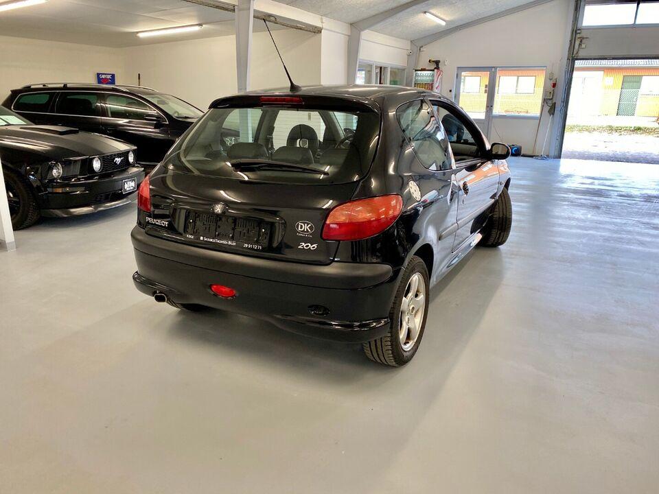 Peugeot 206 2,0 GTi Benzin modelår 2001 km 193000 ABS True