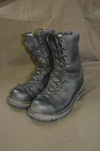 Used-Canadian-military-combat-boots-size-255-96-approx-7-5-Steel-Toe-z22