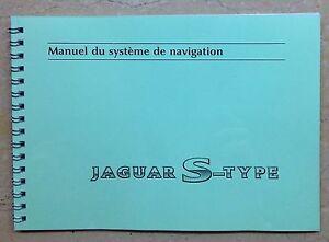 Jaguar S-Type - Manuel du Système de Navigation - France - État : Neuf: Objet neuf et intact, n'ayant jamais servi, non ouvert. Consulter l'annonce du vendeur pour avoir plus de détails. ... - France