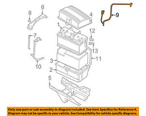 jaguar oem 02 08 x type battery cable c2s22082 ebay rh ebay com 2002 Jaguar S Type Engine Diagram Jaguar Electrical Diagrams
