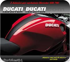 2 adesivi compatibile per ducati monster 796 decals stickers ducati monster