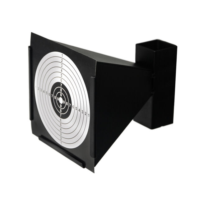 Steel Air Rifle Shooting Duck Magnetic Knock Down Target Pellet Trap Catcher SUM