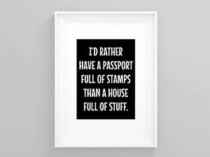 Wanderlust-Art-I-d-Rather-Have-A-Passport-Full-Of-Stamps-Modern-Print-Quote