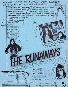 """The Runaways Poster 13x19/"""" Joan Jett Lita Ford Quality Print"""
