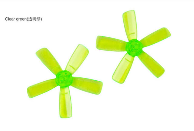 10 Pairs KINGKONG 1935 Propeller 2 Inch CW CCW 3-blade Props for Q90 90GT Drone