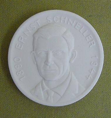 Clever Meissen Ddr Medaille - Gst - Ehrenplakette Ernst Schneller