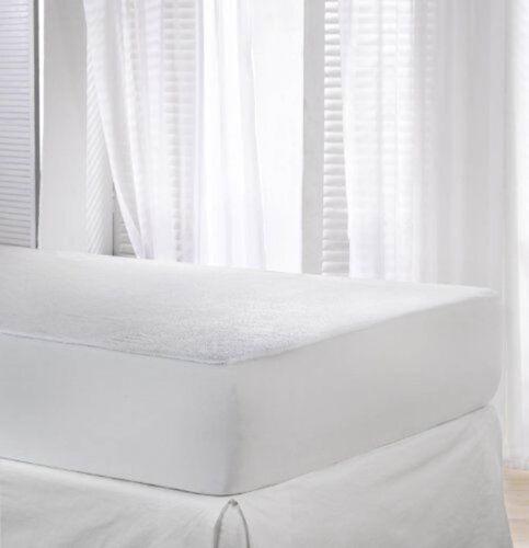 Imperméable matelas protector 4Ft petit lit double terry super king taille unique