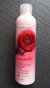 Avon-Naturals-Rose-amp-Schokolade-Koerperlotion