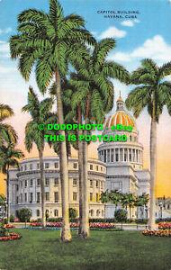 R551085 Cuba. Capitol Building. Havana. Roberts. E. C. Kropp