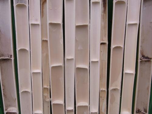 4-17 cm Bambusrohr halbiert 1m 2m wählbar Bambusstangen Bambus Bambushalbschalen