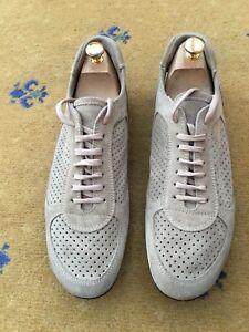 Suede Shoes Miu Trainers Mens Us 10 Prada Uk Sneakers By Beige g7xTIF