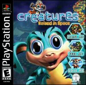 Creatures-Raised-in-Space-Playstation-1-Game-PS1-Used