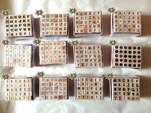 Dovecraft-Mini-Alphabet-Rubber-Stamp-Set-30-Stamps-12-Designs-to-Choose-From