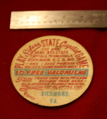 Sifers State Capital Game Advertisement Token Va Richmond 10 Free Valomiks To Have A Long Historical Standing