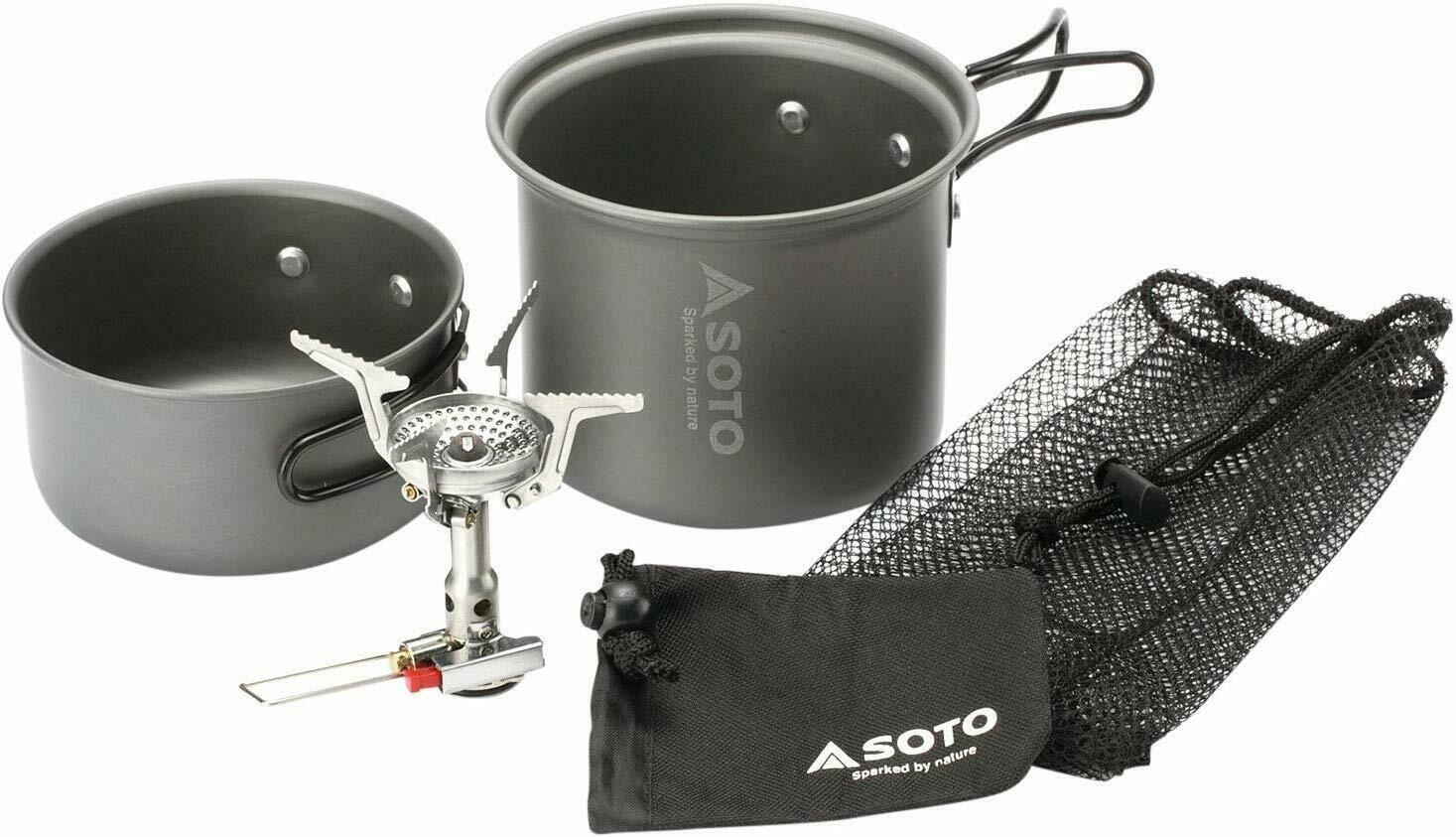 SOTO soto Amika Cooker Combo SOD-320CC With Tracking From JAPAN F S