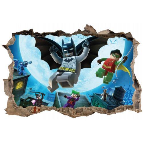 Stickers 3D trompe l/'oeil Légo Batman réf 23242 23242