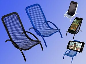 Handy-Halter-Handy-Aufsteller-Ablage-Sessel-Liegestuhl-Staender-fuer-Smartphone
