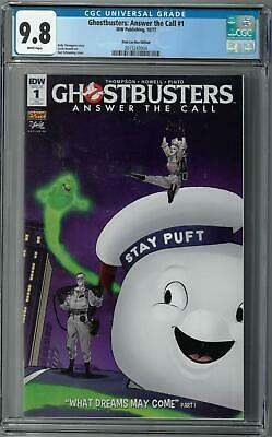 Ghostbusters Answer The Call #1 Cover A NM 2017 IDW Vault 35