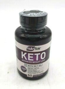 NutriFlair, Keto Advanced Weight Loss 1600mg, 60 Veg. Capsules