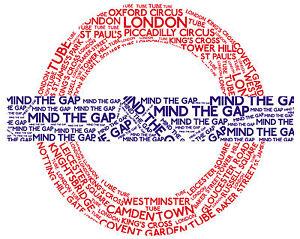Framed Print Picture Poster London Underground Station Sign Baker Street