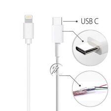 USB 3.1 A Macho Tipo C C 8 pines Cable de Carga de Datos Lightning iPhone/MacBook Etc 1M