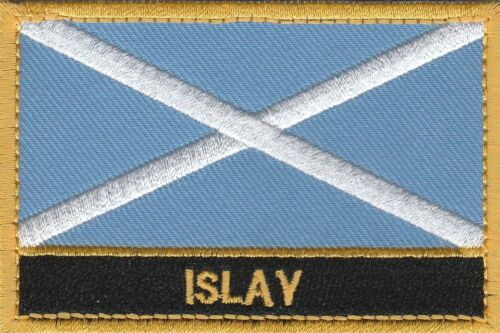 Islay Scotland Town /& City Embroidered Sew on Patch Badge