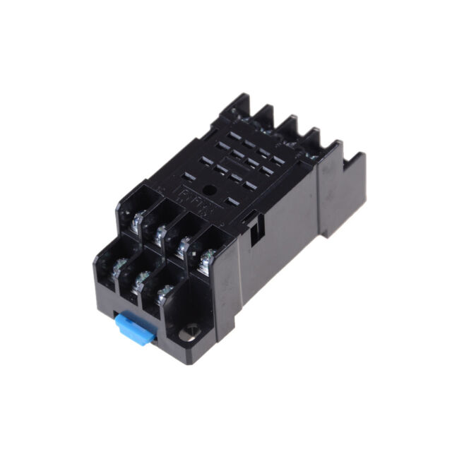 PYF14A DIN Rail Power Relay Socket Base 14 Pin for MY4NJ HH54P MY4 HU