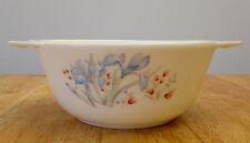 "Vintage Pyrex Blue Iris 6.5"" Casserole Dish. England"