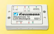 SH Viessmann 5221 Steuermodul für Licht-Blocksignal Fabrikneu