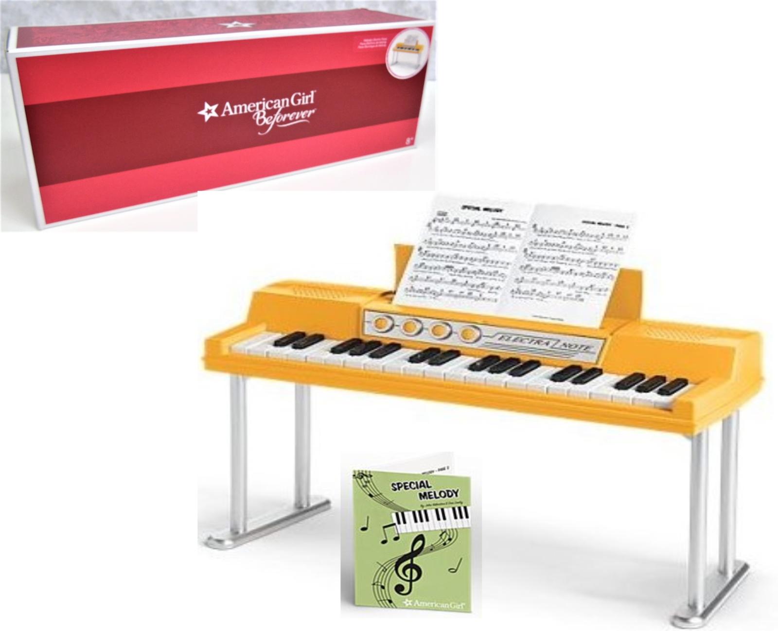 Neuer American Girl Puppe MELODY'S Elektrische Klavier Orgel Spielt Musik