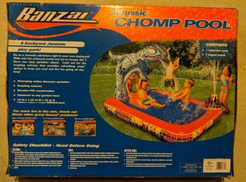 Banzai Jurassic Chomp Pool