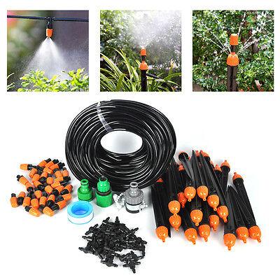 DIY Micro Drip Irrigation System Timer Auto/Manual control Sprinkler Watering KI
