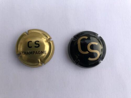 Lot De 2 Capsules de champagne Comte De Senneval