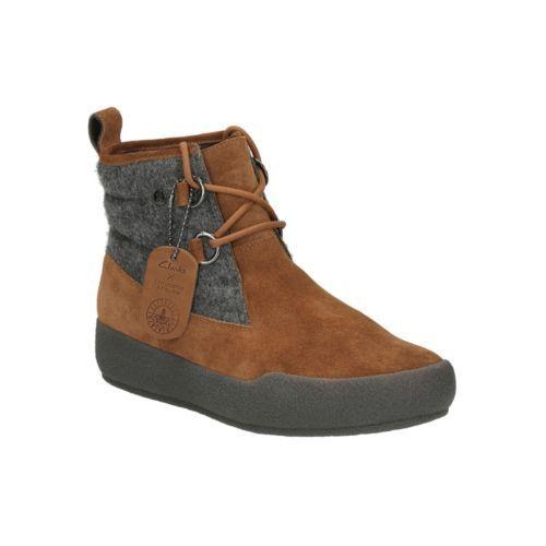 £120 3 5 Clarks women's Boots Combi Ankle Ava Tan Rrp Uk shiliin Winter eu35 wwHzPqOSF