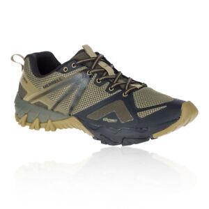 Merrell-Mens-MQM-Flex-GORE-TEX-Walking-Shoes-Brown-Green-Sports-Outdoors