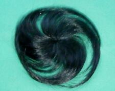 """doll wig/part cap/weaving d. brown 2.5"""" circumference/hairlength approx. 4"""""""