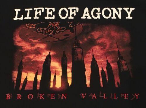 Life of Agony Broken Valley T Shirt 2XL