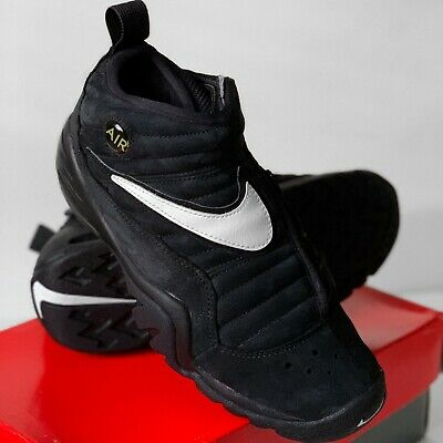 NEW 1995 NIKE AIR SHAKE NDESTRUKT WORM DENNIS RODMAN BLACK WHITE 10.5 OG VTG DS | eBay