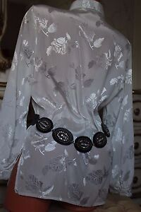 RIVER-ISLAND-black-genuine-leather-Ladies-belt-Waist-33-034-38-034