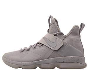 8e677e683fc99 New Nike Lebron XIV 14 Mens Sz 10 Silver White Reflective Grey James ...