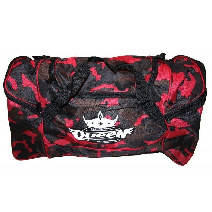 Queen- Trainingstasche Tasche Maße  66cm x 31cm x 36cm.Muay Thai. GBQ 1-Camo